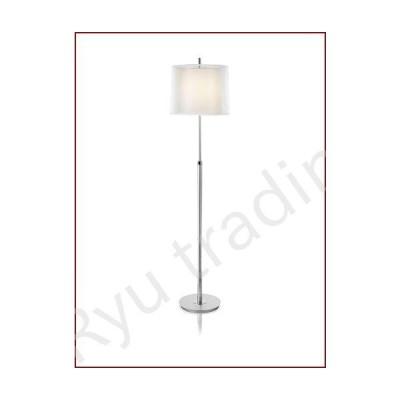 新品Trend Lighting Nimbus Floor Lamp, Metallic Silver/Chrome