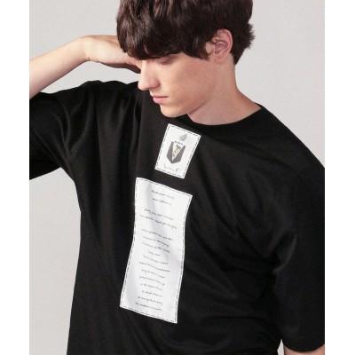 (CABaN/キャバン)CABaN Costarica アートTシャツ/メンズ 19ブラック