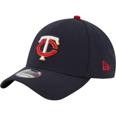 ニューエラ New Era メンズ キャップ 帽子 Minnesota Twins 39Thirty Navy Stretch Fit Hat