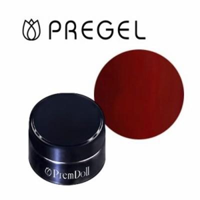 ジェルネイル カラージェル プリジェル PREGEL プリムドール DOLL-629 ボルドー 3g
