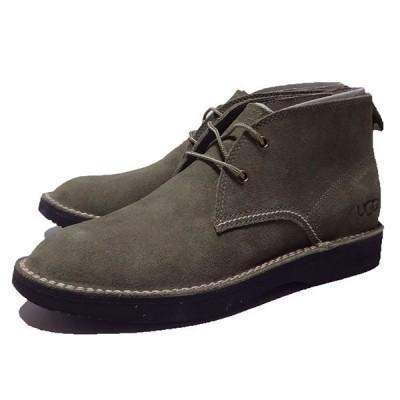 新品 UGG CAMINO CHUKKA BOOT アグ カミノ チャッカ ブーツ スウェード オリーブ グリーン デザート 27cm US9 正規品 (K2119-UGG0001)