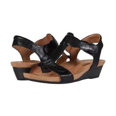 Cobb Hill コッブヒル レディース 女性用 シューズ 靴 サンダル Hollywood T-Strap - Black