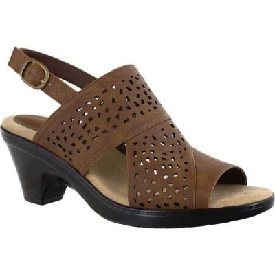 イージーストリート レディース サンダル シューズ Charleigh Perforated Slingback Sandal