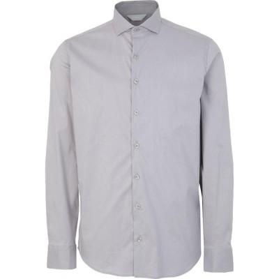 センス SSEINSE メンズ シャツ トップス solid color shirt Grey