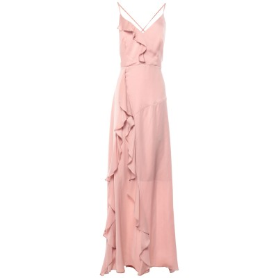 コッカ KOCCA ロングワンピース&ドレス ローズピンク XS ポリエステル 100% ロングワンピース&ドレス