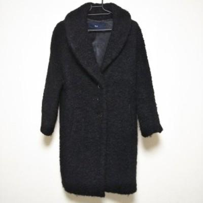 ケミット KEMIT コート サイズ38 M レディース - 黒 長袖/冬【中古】20210305