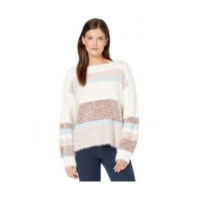 Tribal トリバル レディース 女性用 ファッション セーター Boatneck Long Sleeve Sweater - Eggshell