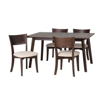 ナチュレダイニングテーブル スクエア(角)タイプ ナチュラル ブラウン NATURE130RT-S