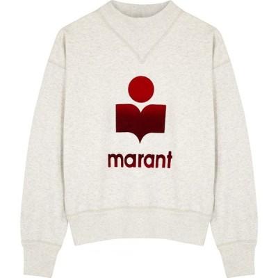イザベル マラン Isabel Marant Etoile レディース スウェット・トレーナー トップス moby logo jersey sweatshirt Multi