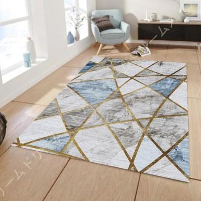 ラグ ラグマット ラグカーペット 洗える 滑り止め付 低反発 西海岸 絨毯 マット 北欧 幾何学模様 カーペット おしゃれ 長方形 四角 ウォッシャブル