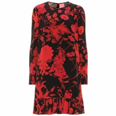 ヴァレンティノ Valentino レディース ワンピース ワンピース・ドレス Floral crepe de chine dress