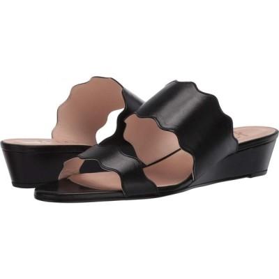 フレンチソール French Sole レディース サンダル・ミュール シューズ・靴 Fave Black Napa