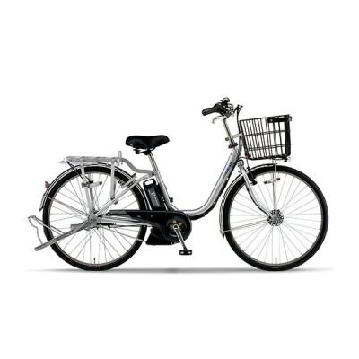 電動自転車 ヤマハ 電動アシスト自転車 PAS GEAR-U パス ギア ユー 24インチ 3段変速ギア 安い YAMAHA 2020 フラッシュシルバー 自転車 完全組立て 軽量 軽い