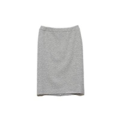 リネーム Rename きれい目タイトスカート (ホワイト×ブラック)