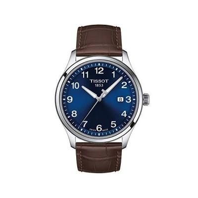 (新品) Tissot mens Tissot Gent XL Stainless Steel Casual Watch Brown T1164101604700
