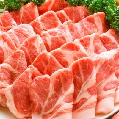 訳あり  豚肩ロース 厚切り スライス 2kg   数量限定   500g×4パック   豚肉 生姜焼き しょうが 炒め物 肩ロース ロース 冷凍 小分け 便利  送料無料