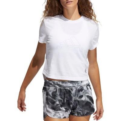 アディダス adidas レディース Tシャツ トップス Performance T-Shirt White