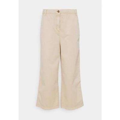 エスプリ レディース ファッション CULOTTE - Trousers - beige