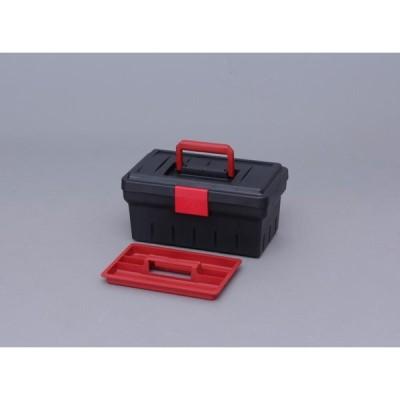 アイリスオーヤマ ツールケース ダークグレー/レッド 400