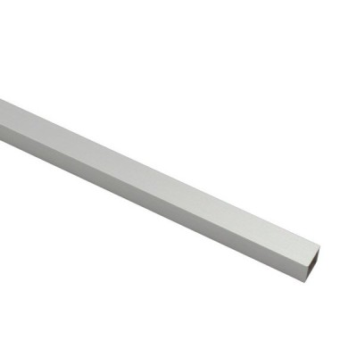 アルミ等辺角パイプ 1.0*10*10mm 1m シルバー 1本