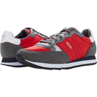 ヒューゴ ボス BOSS Hugo Boss メンズ スニーカー シューズ・靴 Parkour Sneakers Open Red