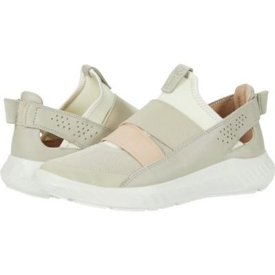 エコー ECCO レディース スリッポン・フラット シューズ・靴 ST.1 Lite Slip-On Multicolor Gravel Cow Leather/Textile