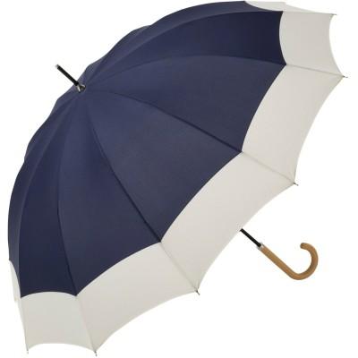 風に強い◎12フレームの大きめ長傘(ビコーズ/because)