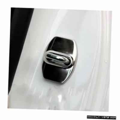 車の改造車の付属品4ピースステンレスインテリア車のドアロック保護カバーシボレーマリブXL