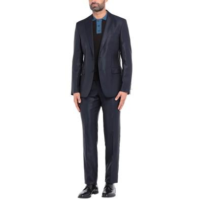 パオローニ PAOLONI スーツ ダークブルー 54 レーヨン 35% / ポリエステル 35% / ウール 30% スーツ