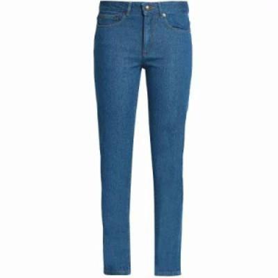 アーペーセー ジーンズ・デニム High-rise slim-leg jeans Mid denim