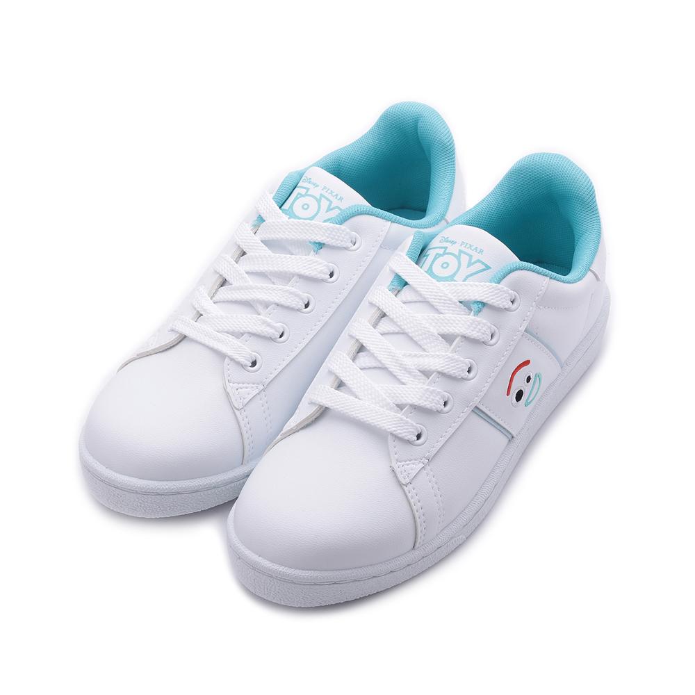 DISNEY 叉奇綁帶小白鞋 白藍 女鞋