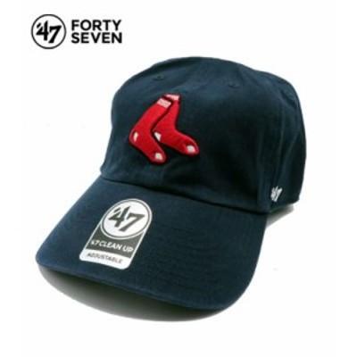 フォーティーセブン コットンツイル クリーンナップ レッドソックス ベースボールキャップ 47 Boston Red Sox CLEAN UP CAP RGW02GWS-A1