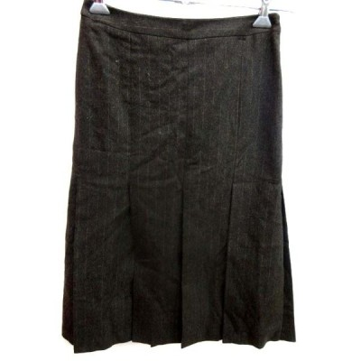 【中古】ボディードレッシング BODY DRESSING Delux スカート タイト ひざ丈 7 ブラウン /YI レディース【ベクトル 古着】