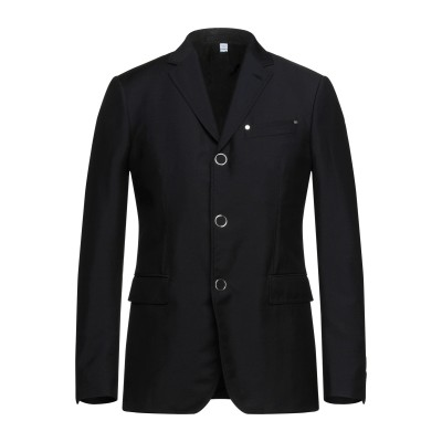 BURBERRY テーラードジャケット ブラック 46 ウール 73% / モヘヤ 27% テーラードジャケット