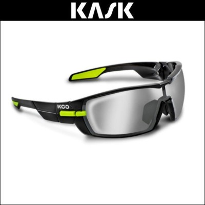 KOO(クー) サングラス OPEN BLK/LIME