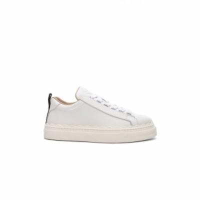 クロエ Chloe レディース スニーカー シューズ・靴 Low Top Sneakers White