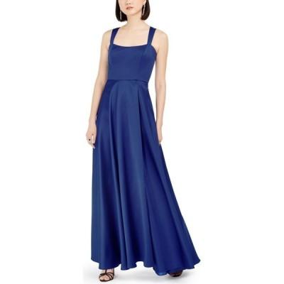 エックススケープ XSCAPE レディース パーティードレス ワンピース・ドレス Petite Sweetheart Gown Royal Blue