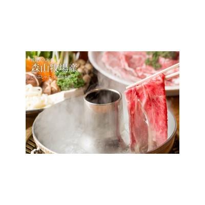 ふるさと納税 B12-002 森山牧場 スライス肉(500g) 1万2千円コース 佐賀県小城市