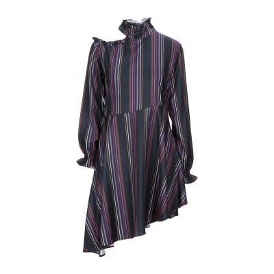 リュー ジョー LIU •JO ミニワンピース&ドレス ダークブルー 42 ポリエステル 96% / ポリウレタン 4% ミニワンピース&ドレス