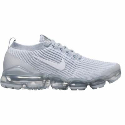 ナイキ Nike レディース スニーカー シューズ・靴 Air VaporMax Flyknit 3 Shoes White/Plat/Silver