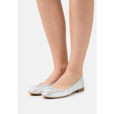 タマリス レディース 靴 シューズ Ballet pumps - silver