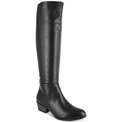 エスプリ レディース ブーツ&レインブーツ シューズ Treasure Faux Leather Dress Boots Black PU