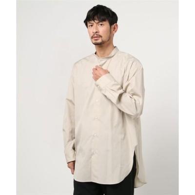 シャツ ブラウス 5525gallery/別注バンドカラーシャツ
