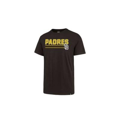 47ブランド メンズ Tシャツ トップス Men's San Diego Padres Line Drive T-Shirt