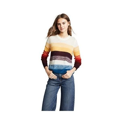 Cinq a Sept Women's Elizeh Mohair Pullover, Multi, X-Small並行輸入品 送料無料