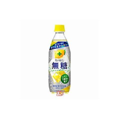 キレートレモン 無糖 スパークリング ポッカサッポロ 500ml ペット 24本入