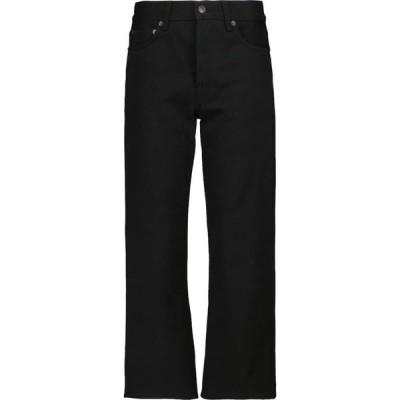 ザ ロウ The Row レディース ジーンズ・デニム ボトムス・パンツ Lesley mid-rise straight jeans Black