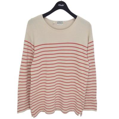 LEVIS VINTAGE CLOTHING ボーダーカットソー ナチュラル×ピンク サイズ:XS (新潟紫竹山店) 210507