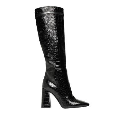 カールラガーフェルド KARL LAGERFELD ブーツ ブラック 39 山羊革 100% ブーツ