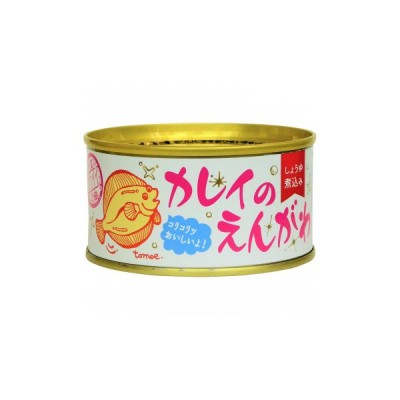 代引き不可 木の屋石巻水産 カレイの縁側醤油煮込み(篠原ともえラベル) 170g ×24缶セット